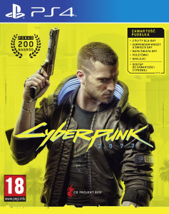 CYBERPUNK 2077 wersja PS4 BLU-RAY BOX